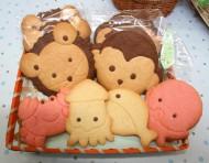 動物・魚クッキー