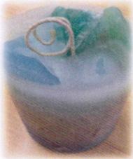 アロマキャンドル 円柱