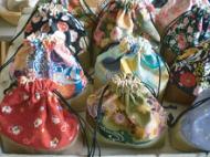主に縫製品を製作しています。製品は浜の町の「はあと屋」に提供し販売しています。