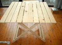 対馬桧折りたたみテーブル 5,500円