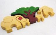 木パズル(象)
