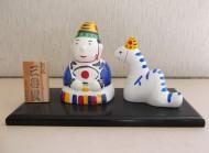 干支石膏人形は利用者のみんなで一年をかけ一つひとつ手作りしています。