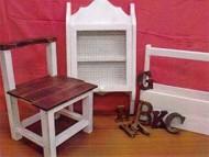 木工小家具など